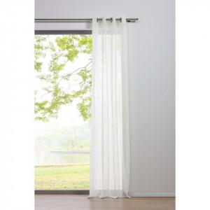 Perdea Pure fibra sintetica, alb, 135 x 245 cm