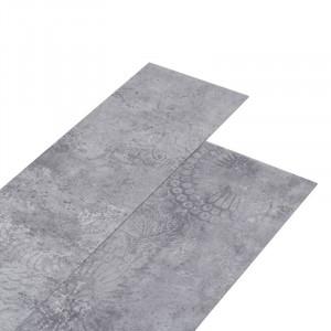 Placi de pardoseala autoadezive Orellana, gri, 91,45 x 15,24 cm