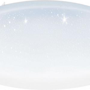 Plafoniera Totari, plastic, alba, 8 x 80 cm, 43w
