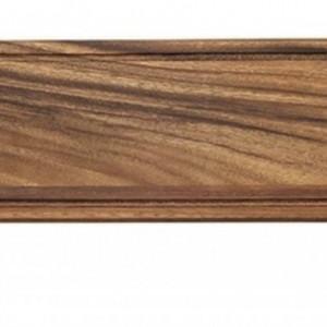 Platou TandG Baroque din lemn de salcam cu coada