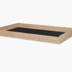 Sertar pentru pat Gami Duplex, maro, 17 x 158 x 93 cm