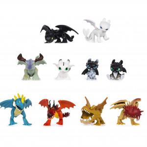 Set 10 Dragoni Misteriosi de colectionat, varsta 4+ ani
