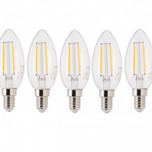 Set Becuri LED Vel E14/ 2,5Watt, 5 buc
