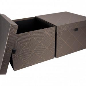 Set de 2 cutii de depozitare Tristan