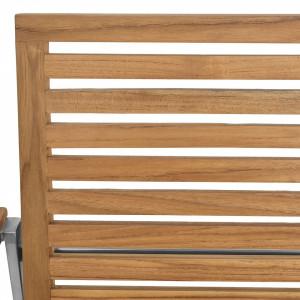 Set de 2 scaune de gradina Teakline Exklusiv VIII