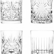 Set de 4 pahare de whisky din cristal, 310 ml