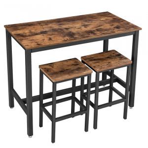 Set de luat masa cu 2 scaune