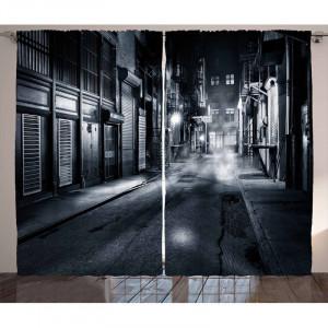 Set de Perdele Night Pencil, 175 x 140 cm