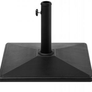 Suport pentru umbrela Cervo, negru, 36 x 50 x 50 cm