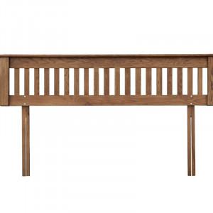 Tăblie pat Rayleigh din lemn masiv de pin, 43cm H x 9cm D x 198 cm W