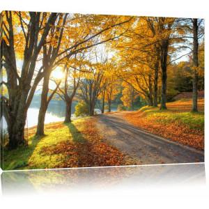 """Tablou """"Peisaj de toamnă"""", 70 x 100 cm"""
