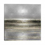 Tablou Silver Seascape I by Michelle Matthews, 66 x 66 cm