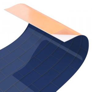 Tapet, PVC, albastru, 50 x 50 cm