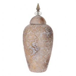 Vas din ceramica Potiche Nivela, 18x44cm