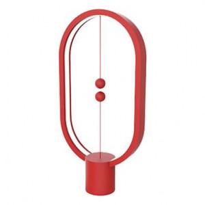 Veioză Heng Balance Ellipse USB, roșu