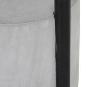 Veioza Pipero, alba/neagra, 51 x 28 x 20 cm, 40w