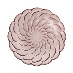 Set de 4 farfurii intinse Jellies, roz
