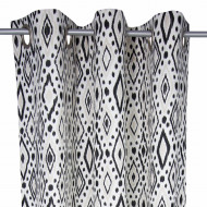 Draperie Tom Taylor African Spirit - alb/negru - 135 x 245