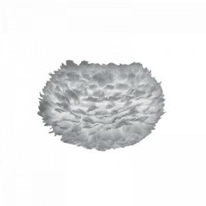 Abajur Eos, pene, gri, 45 x 30 x 45 cm