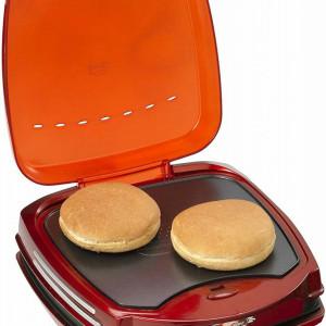 Aparat pentru hamburger/sandwich Ariette 185, rosu/portocaliu
