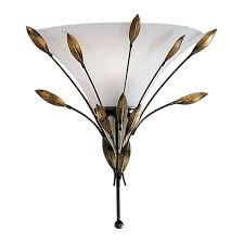 Aplica Campana, metal/sticla, 29 x 34 x 15 cm, 60w