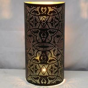 Aplica Censier, metal, neagra/aurie, 40 x 20 x 10 cm
