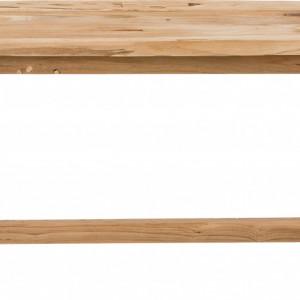 Bancă din lemn Lawas, 100x46x27cm