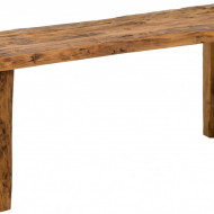 Banca, lemn masiv de tec, maro, 120 x 45 x 30 cm