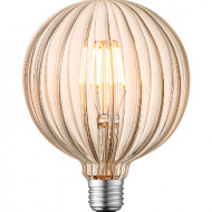 Bec DIY XV, LED, sticla/metal, 13 x 17 x 13 cm