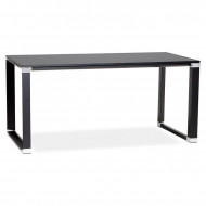 Birou Nuneaton 160 x 80 x 74 cm, negru