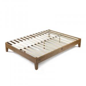 Cadru de pat Elizabeth din lemn masiv, 150 x 200 cm