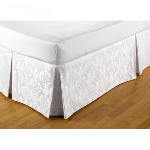 Cearsaf de pat, textil/bumbac, alb, 137 x 191 cm