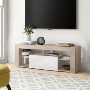 "Comoda TV 55 "" Francis din lemn, 140 x 35 cm"