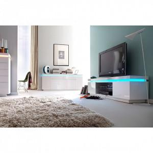 Comoda TV Emblaze I cu sistem de iluminare LED