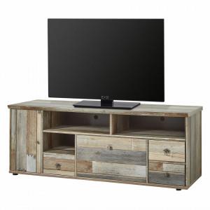 Comoda TV Tapara IV maro/gri