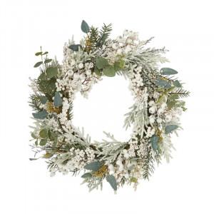 Coroana decorativa Craciun, 56 cm