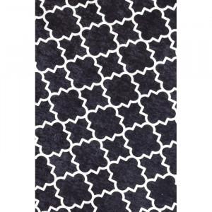 Covor Arleen, negru/alb, 80 x 200 cm