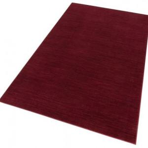 Covor de lana Hanna by My Home Selection, rosu, 80 x 150 cm