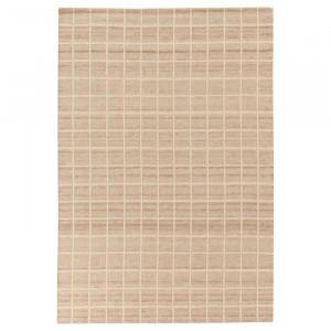 Covor Kilim, lana/bumbac, crem, 60 x 120 cm