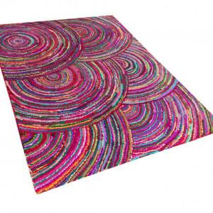 Covor Kozan, multicolor din bumbac, 160 x 230 cm