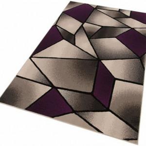 Covor My Home, gri/violet, 120 x 170 cm