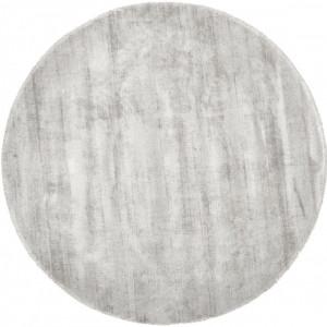 Covor rotund Jane, gri, 200 cm