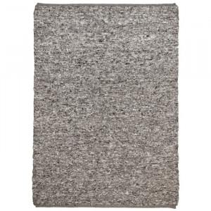 Covor Sandy, din lana, gri, 160 x 230 cm