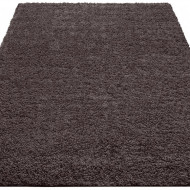 Covor Shaggy 30 by Home Affaire, gri inchis, 60 x 90 cm