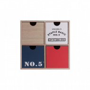 Cutie pentru accesorii Karll, 225 x 102 x 225 mm