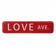 Decor de perete Love Avenue Sign
