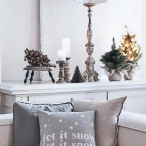Fata de perna Let it Snow, 40x40 cm