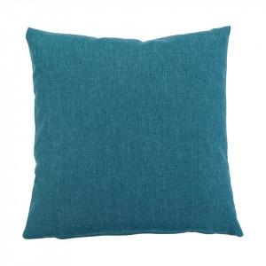 Fata de perna Milano fibra sintetica, albastru, 40 x 40 cm