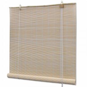 Jaluzea Darkening din bambus, 100 x 220 cm