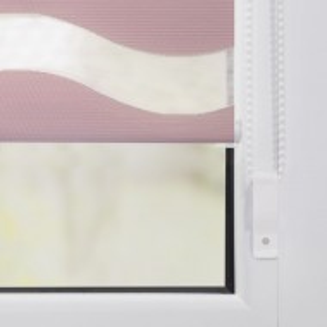 Jaluzea rulanta Welle, roz 100 x 150 cm